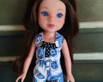 OOAK doll clothes for Hearts4Hearts doll - Summer Blue
