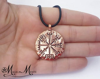 Necklace with Vegvisir, viking compass - FAM3