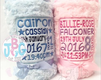 Baby blankets etsy more colors personalised baby blanket negle Choice Image