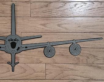 KC-135 Stratotanker Premium Silhouette Wall Art - Aviation - Pilot Gift