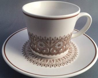 Noritake Century Tea Cup and Saucer