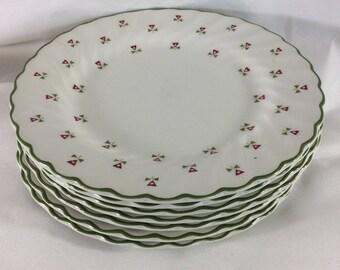 Vintage Laura Ashley Thistles bread plates Laura Ashley plates made in England 1980\u0027s vintage  sc 1 st  Etsy & Nataly on Etsy