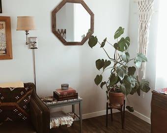 Mirror, Wall Mirror, Rustic Mirror, Modern Decor, Bathroom Mirror, Geometric Mirror, Wood Mirror, Large Mirror, Vanity Mirror, Mirrors, Home