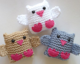 Learn To Knit Kit Jingle Birds