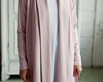 Soft, silky, comfy modal and cotton robe