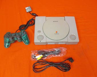 PlayStation PS1 System Video Game Console  - RETRO VINTAGE GAMING