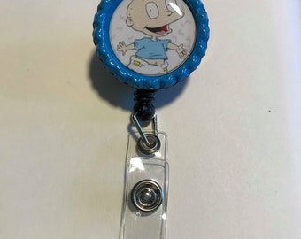Rugrats Tommy Retractable ID Badge Reel, Rugrats Tommy magnets, Rugrats Tommy earrings, Rugrats Tommy keychain