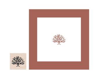 Mini Tree Rubber Stamp