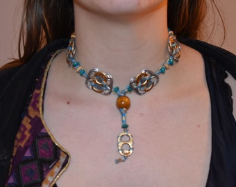 Upcycled Ring Pull Necklace