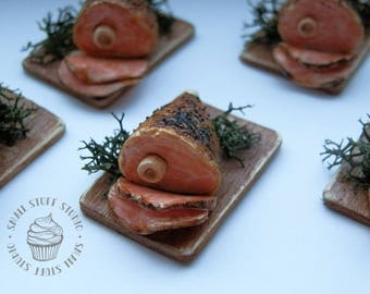 Dollhouse Miniature Baked Ham