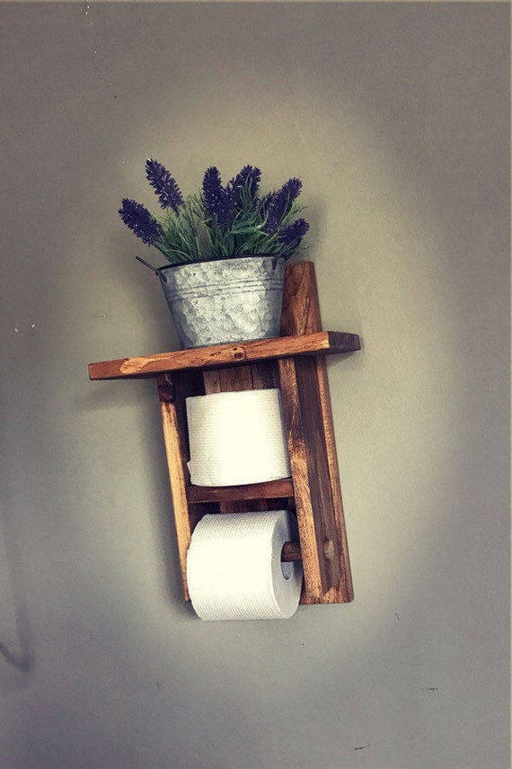 Rustic Bathroom Decor, Bathroom Decor, Rustic Decor, Home Decor Rustic, Industrial Decor, Bathroom Wall, Rustic Bathroom, Industrial Shelf