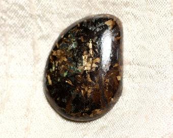 N12 - Cabochon stone - 34mm Bronzite - 4558550087003