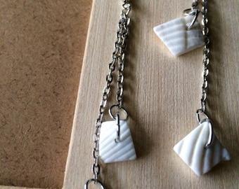 Summer shell earrings