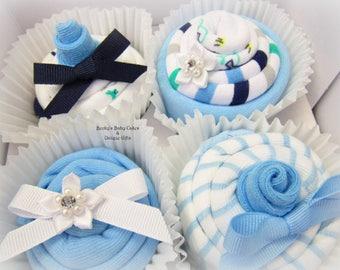 Baby Boy Gift Basket, Baby Boy Gift, Onesie Cupcakes, Baby Shower Gift, Baby Cupcakes, Boy Baby Shower Gift, Pregnancy Gift, Mom to Be Gift