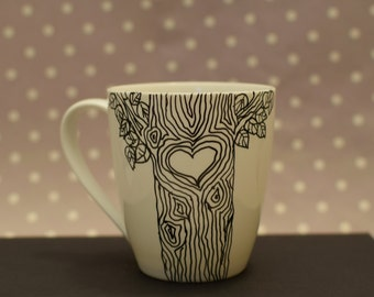 Customized Tree Mug with your initials!