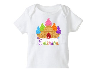 Candy Land Sweet Treats Birthday TShirt or Bodysuit, Candy Birthday Party, Personalized Girls Birthday Shirt, Girls Birthday Party