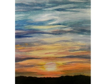 Sunset - Limited Edition Print