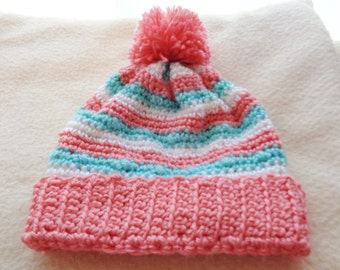 soft pastel stocking cap