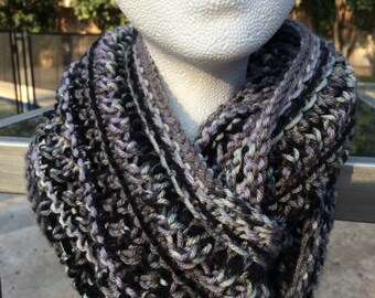 Psychedelic Infinity Scarf/ Cowl