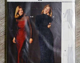 Pouch pattern Burda 2587 - evening dress