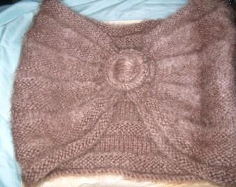 Vintage Knitt Mohair Stole Wrap Shawl Handmade, Women's Clothing, WAS 25.00 - 50% = 12.50