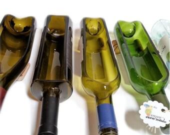 SALE! - Wine Bottle Planter / Wine Gifts / Wine Bottle Decor / Indoor Plants / Succulent Glass Terrarium / Indoor Herb Garden Alcohol Gifts
