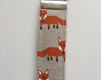 HANDMADE Fox keyring - perfect gift to keep your keys safe!!
