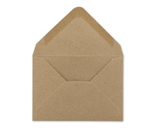 Kraft Envelopes - Save the Date add-on