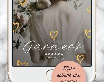Wedding Snapchat Filter * Wedding Geofilter, Snapchat Geofilter Engagement, Snapchat Geofilter Hens, Gold Geofilter, Custom Snapchat Filter