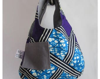 "Kids Messenger bag ""comme maman"" reversible"