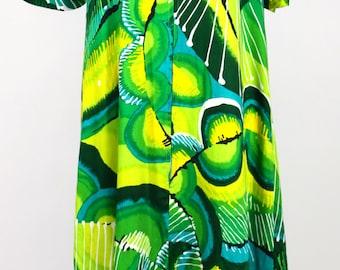 Psychedelic Caftan dress Maxi Dress