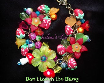 Don't touch the bang bang fruit,  psychedelic,psychobilly gothic paga handfasting fantasay fairy