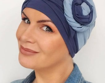 Bamboo Cloche Chemotherapy Hat For Hair Loss|Womens chemo hat | chemo headwear | turbans for cancer patients | chemo headwear | cancer hat