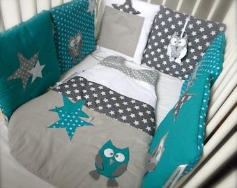 Sleeping bag / sleep OWL and stars