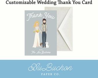 Customizable Wedding Thank You