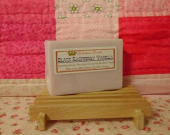Black Raspberry Vanilla Shea Butter & Goats Milk Soap