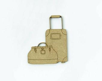 Bundled luggage set, made in medium, size 5cm