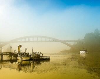 Landscape, Fine Art Photography, Morning Fog Image,
