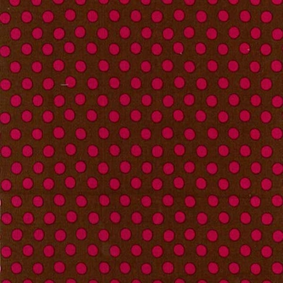 SPOT COCOA Brown PWGP070 Kaffe Fassett  Sold in 1/2 yd increments