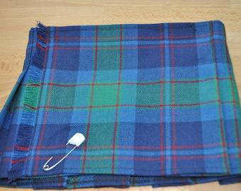 Baby Kilt, 6-12m, Grampian Modern tartan, 100% 10oz Pure New Wool, Handmade in Scotland.