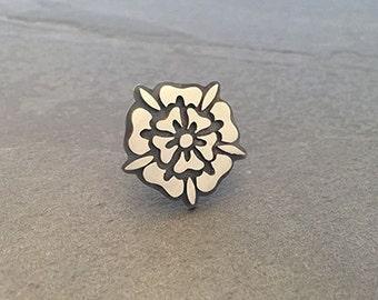 Yorkshire Rose Lapel Pin Badge
