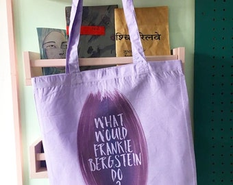 Frankie Bergstein tote bag grace and frankie