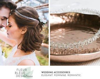 crystal headband | crystal hair vine | headband vintage | wedding hair band | boho headband | pearl headband | bridal hair vine