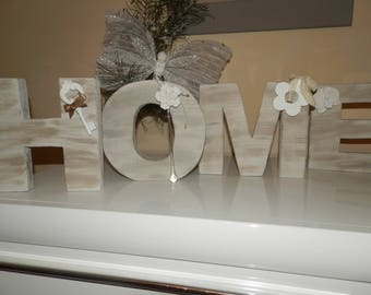 """For wooden word """"HOME"""""""