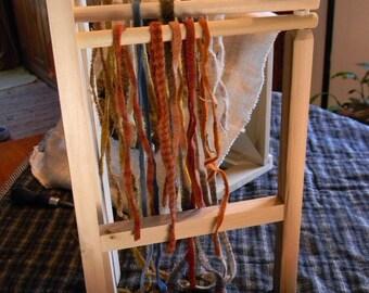 Folding Wool Strip Rack - from Notforgotten Farm™