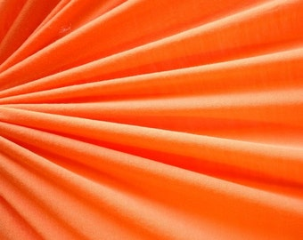 """Coral Rayon Spandex Jersey 60"""" Wide 15 Yards Wholesale"""