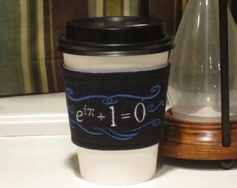 Euler's Identity Coffee Cozy