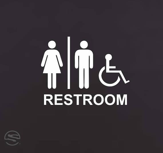 Handicap Restroom Signs Handicap Bathroom Sign Handicap