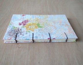 Bullet Journal | Floral Journal | Dot Grid Journal | BuJo | Hard Cover | Dot Grid Notebook | Bullet Notebook | Hardcover Journal