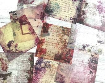 Vintage Sticker Sheets